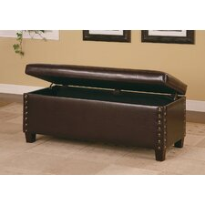 Broadbent Leather Storage Bench