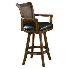 Arundel Barstool in Warm Medium Wood