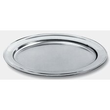 Ufficio Tecnico Alessi Oval Mirror Edge Finish Serving Plate