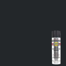 Flat Black High Performance Professional Spray Paint Enamel 7578-838
