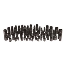 "3/8"" and 1/2"" Drive Combo Standard and Deep Socket Set"