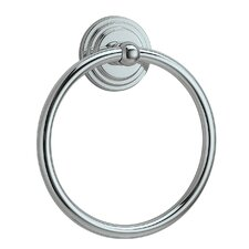 Marina Towel Ring in Chrome