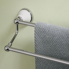 Petite Franciscan Double Towel Bar in Chrome
