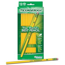 12 Count Yellow Wood Pencil