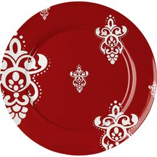 Winter Splendor Rocaille Salad Plate (Set of 4)