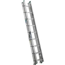 "288"" Compact Aluminum D-Rung Extension Ladder"
