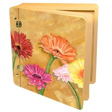 Home and Garden Gerber Daisies Memory Box