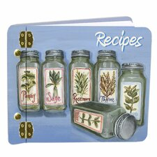 Herbs Recipe Book Mini Album
