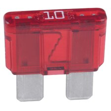 Red 10 Amp ATC Fast Acting Blade Type Automotive Fuse ATC-10B