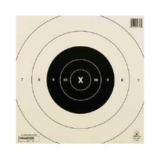 25 Yard Timed and Rapid Fire Tag Board NRA Target (Pack of 12)
