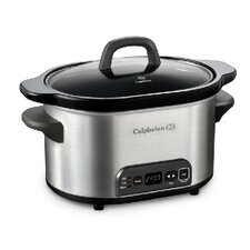 Kitchen Electrics 4-Qt Digital Slow Cooker