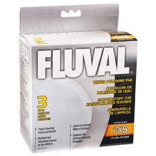 Fluval Water Polishing Pad for Fluval FX5 (3 Pack)