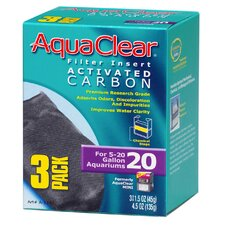 AquaClear Activated Filter Carbon (3 Pack)