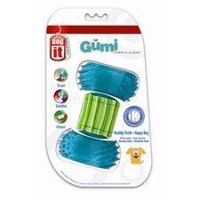 Dogit Design GUMI Dental Dog Toy - Chew and Clean