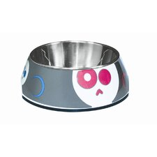 Dogit Style Dog Bowl in Animated Skulls