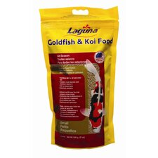 Laguna Small Pellet Goldfish and Koi Floating Food - 17.6 oz.