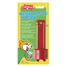 Living World Metal Water Bottle Holder for Hamster Bottle