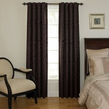 Room Darkening Rod Pocket Window Curtain Single Panel