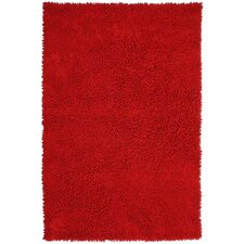 Shagadelic Red Rug