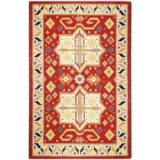 Traditions Virtu Red Rug