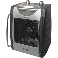 Portable Fan Forced Utility Space Heater with Thermostat