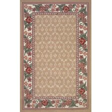Bucks County Autumn/Ivory Damask Rug