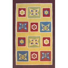 Kiddie Butterfly Kids Rug