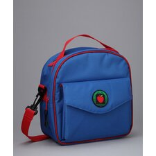 Jaydon Placemat Lunch Bag in Blue / Red with optional Lunch Sack