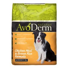 Natural Chicken Meal and Brown Rice Formula Dry Dog Food