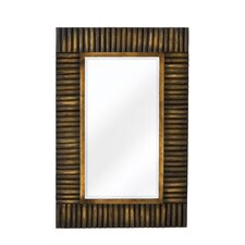 Mixed Media Rectangular Bevel Wall Mirror