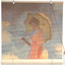 Girl with a Parasol Rayon Roller Blind