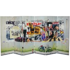 Tall Double Sided The Beatles Anthology Canvas Room Divider