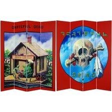 Tall Double Sided Grateful Dead Terrapin Station Canvas Room Divider