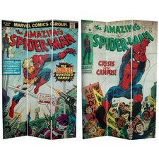 Tall Double Sided The Amazing Spider-Man Canvas Room Divider