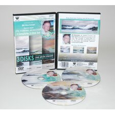 BLACKMAN DVD SEASCAPE OIL PAINTING 3 HOUR-1hr of each of DVD 3361, 3362, & 3363.