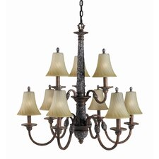 Vergennes 9 Light Chandelier
