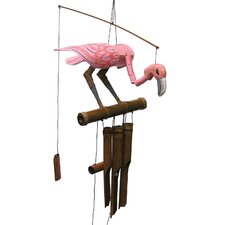 Pink Flamingo Wind Chime