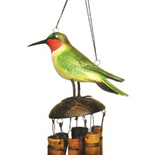 Ruby Throated Humm Wind Chime