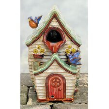Porcelain Birdhouse Fountain