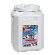 Vittles Vault Junior Pet Food Container in Mocha Granite
