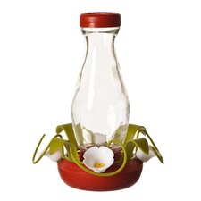 HB Funnel Fill Glass Hummingbird Feeder