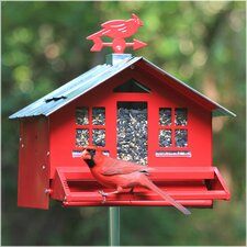 Squirrel-Be-Gone II Country Style Wild Bird Feeder