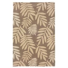 Fashion Natural Fern Motifs Rug
