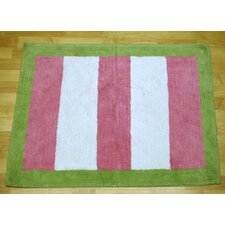Paisley Splash In Pink Kids Rug