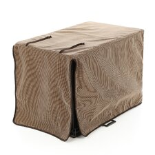 Luxury Diam Microvelvet Dog Crate Cover