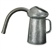 2 Quart Galvanized Measure, Flexible Spout
