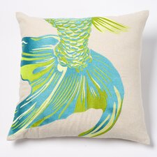 Fishtail Linen Pillow