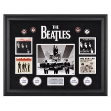 "The Beatles ""On The Ed Sullivan Show"" Framed Presentation - 21.5"" X 27"""