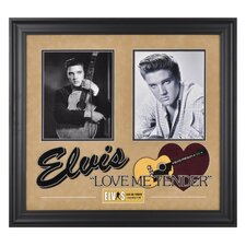 "Elvis Presley ""Love Me Tender"" I Framed Presentation - 23"" X 25"""