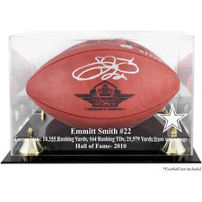 NFL Hall of Fame Classic Football Logo Display Case